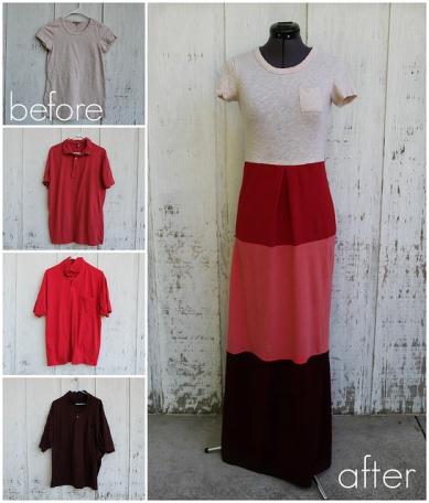 Colorblock-T-shirt-Dress-DIY
